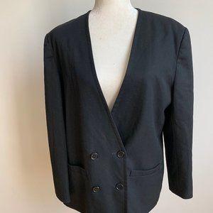 Pendelton Vintage black blazer wool sz Large